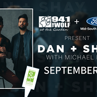 Dan+Shay with Michael Ray at Wolf at the Garden