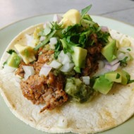 Overton Square Babalu's Taco of the Month