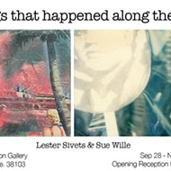 "Opening reception for ""Things That Happened Along the Way"""