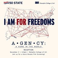"Artist reception for ""For Freedoms Exhibition: A•GEN•CY: A Home in the World"""