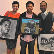 """Artists Reception for """"Art Out Loud! A Reflection of Student Voices"""""""