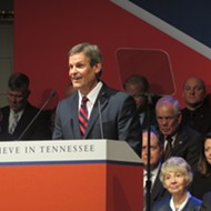 In Brief Address, Governor Bill Lee Takes the Oath in Nashville