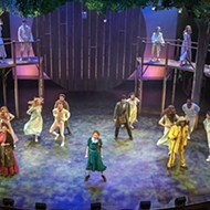On stage: <i>Sweat and Tuck Everlasting.</i>