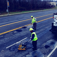 City Looks to Ease Pothole Problem With Technology, Re-Paving