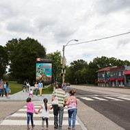 Midtown Projects: New Overton Park Sidewalks; New Evergreen Mural