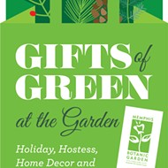 Gifts of Green at the Garden
