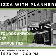 Pizza with Planners: Memphis History and Community Development