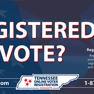 Register by Monday to Vote in the Tennessee Primary
