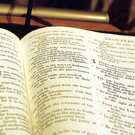 Bible Closer to Becoming State Book