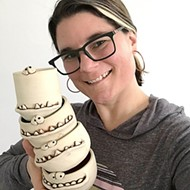 Becky Zee Hosts Virtual Ceramics Class