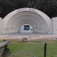 Levitt Shell Vandalized