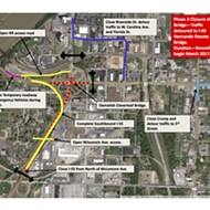 Old Bridge Project Closes Riverside Section for Months