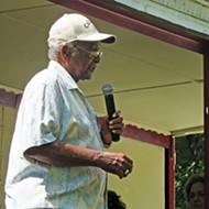 Sidney Chism Lays It On the Line at Annual Picnic