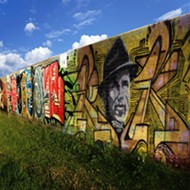 Paint Memphis Working on Large Graffiti Mural in North Midtown