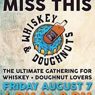 Whiskey + Doughnuts at the Rec Room