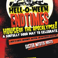 Sister Myotis' Hell-O-Ween Endtimes House of the Apocalypse at TheatreSouth