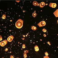 World AIDS Day Wish Lantern Lighting
