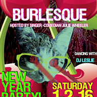 New Year's Burlesque Show