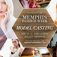 Memphis Fashion Week Model Casting and 2016 Event Tickets Now Available