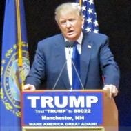 Donald Trump's No Pussy: Jackson Baker in New Hampshire