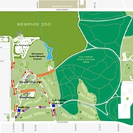 New Traffic Flow for Overton Park Saturday