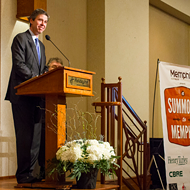 Chattanooga Mayor Andy Berke Addresses Summons to Memphis Luncheon