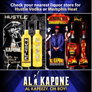 Al Kapone to Promote Hustle Vodka, Memphis Heat Cinnamon Whiskey