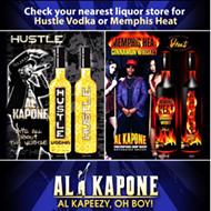 Al Kapone to Promote Hustle Vodka, Memphis Heat Cinnamon Whiskey