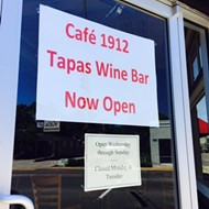 Cafe 1912 Tapas Wine Bar Changes Focus, etc.