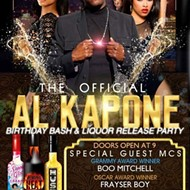 Al Kapone's Throwing a Birthday Party at the Hard Rock Cafe