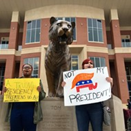Student Organizers From Four Colleges Lead Protest Against Trump, Issue Demands
