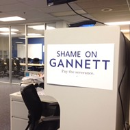 Gannett to Pay Severance in Guild Agreement