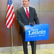 David Lenoir Makes It Official: He's a Candidate for County Mayor