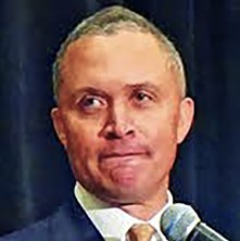 Harold Ford Jr. in Memphis at an NAACP event earlier this year - JB