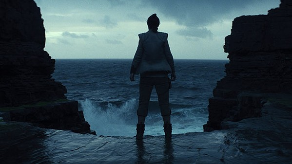 Daisy Ridley faces the Dark Side in The Last Jedi