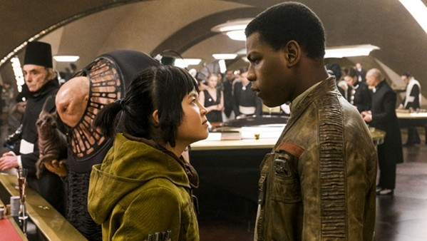 Kelly Marie Tran and John Boyega