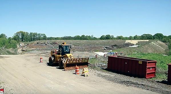 The Memphis Wrecking Co. landfill in Frayser. - MEMPHIS WRECKING CO.