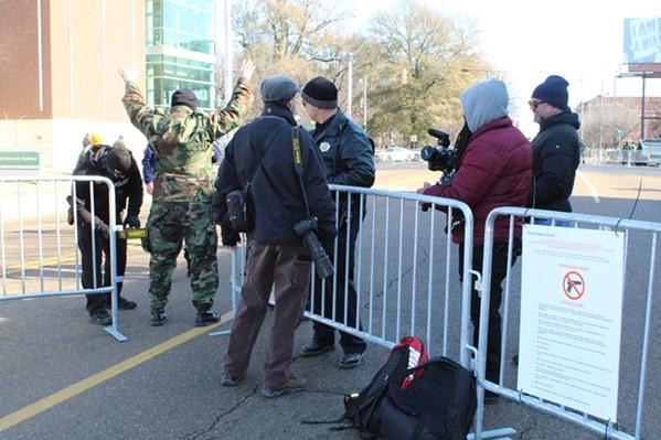 Security screening on Union