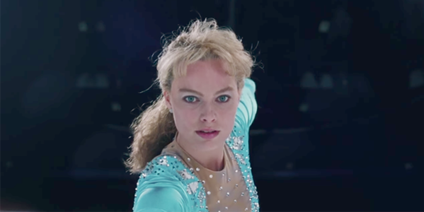 Margo Robbie as Tonya Harding in I, Tonya