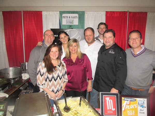 Pete & Sam's was represented at Italian Winterfest. - MICHAEL DONAHUE