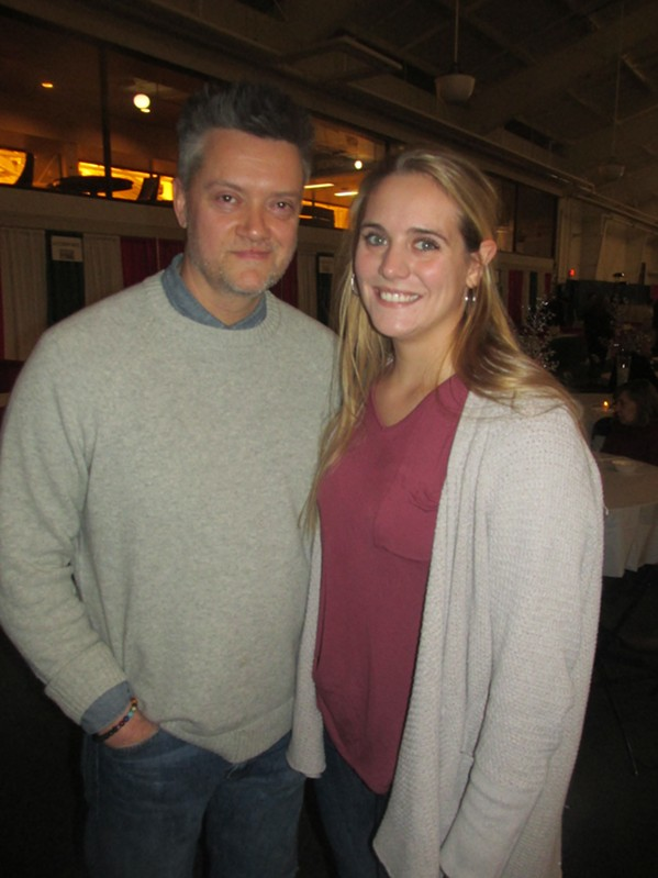 Michael Bomarito and Katie Stone at Italian Winterfest - MICHAEL DONAHUE