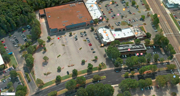 The former Kroger location on Exeter seems to be ready for a new life as a Trader Joe's. - APPLE MAPS