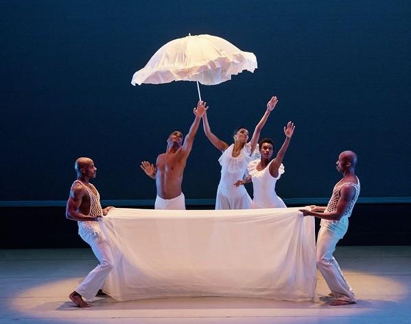 Alvin Ailey American Dance Theater perform Revelations. - PAUL KOLNIK