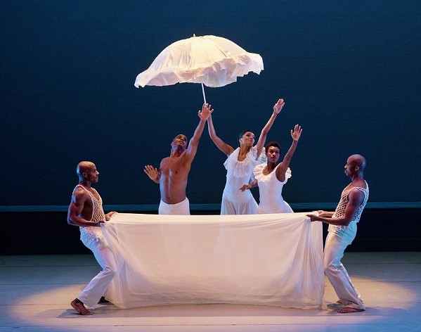 Alvin Ailey American Dance Theater perform Revelations. - PAUL KOLNIK