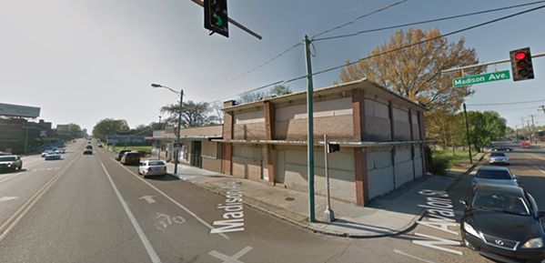 The former site of the Antenna Club at Madison and Avalon. - GOOGLE MAPS