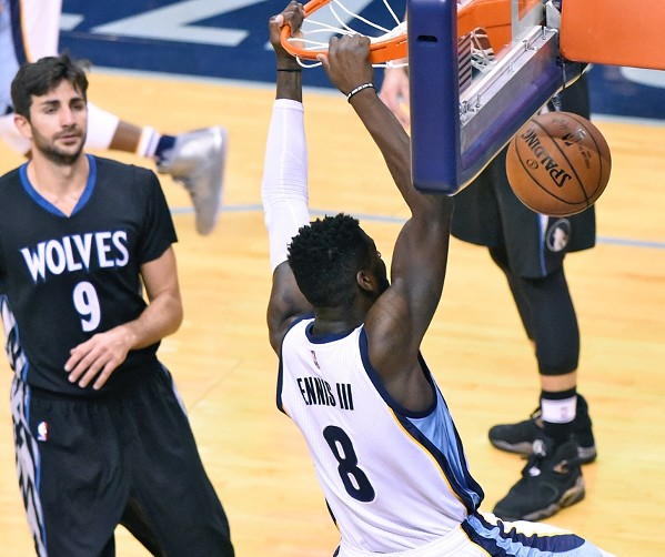 Beyond the arc memphis news and events memphis flyer james ennis has had a breakout year for the grizzlies after being cut last year publicscrutiny Image collections
