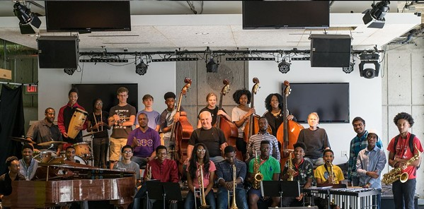 Faculty and students of the Memphis Jazz Workshop