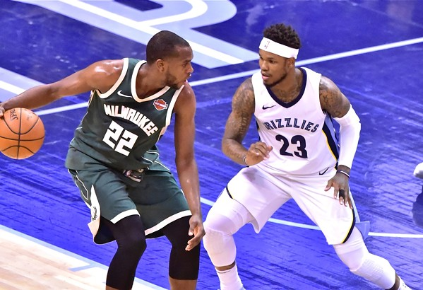 Beyond the arc memphis news and events memphis flyer ben mclemore actually had a good game against milwaukee but it wasnt enough publicscrutiny Image collections