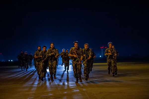 Mossad commandos stroll casually into battle in Seven Days In Entebbe