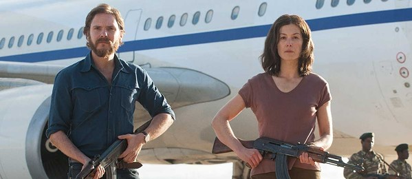 Daniel Bruhl and Rosamund Pike hijack a plane because they have nothing better to do.